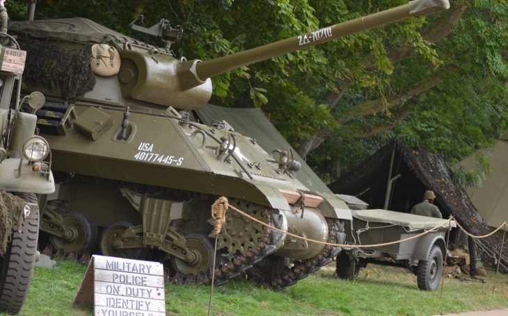 U Králík se odehraje ukázka bojů z konce druhé světové války