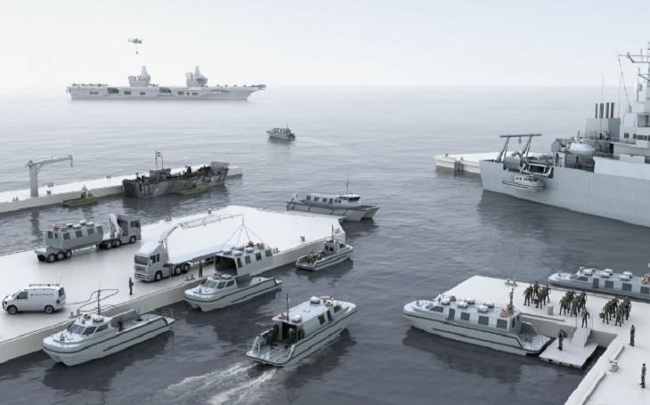 Nové modulární čluny pro Royal Navy