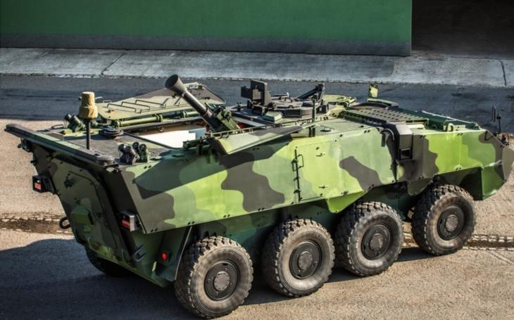 Samohybný minomet na podvozku Pandur II 8x8 CZ - moderní a ekonomický prostředek palebné podpory pozemních sil