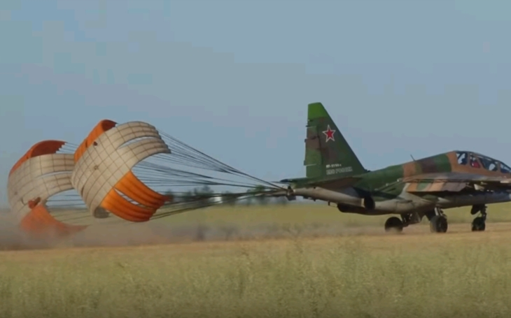 Netradičný štart SU-25