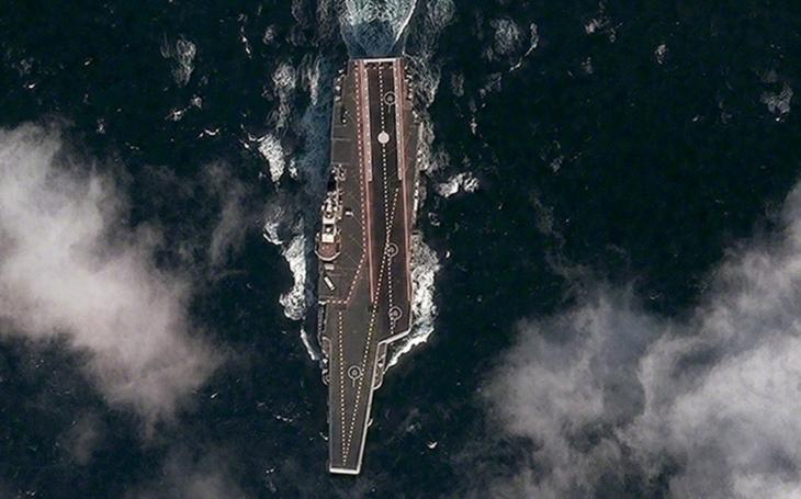 Propagační video letadlové lodi Liaoning  boří čínské sociální sítě