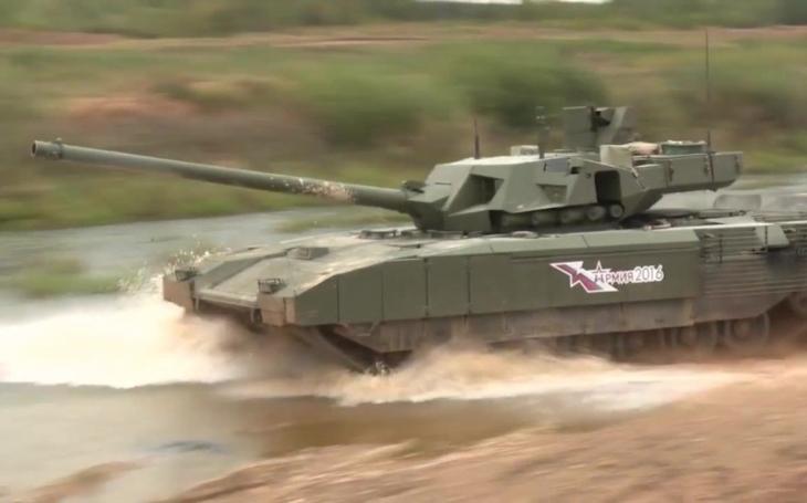 Rusko chce postavit 100 tanků nové generace T-14 Armata