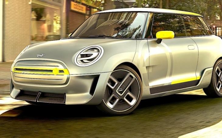 VIDEO: Takto vypadá ,,celoelektrický&quote; Mini Cooper: Stříbrnožlutý vůz se představí na automobilové výstavě ve Frankfurtu