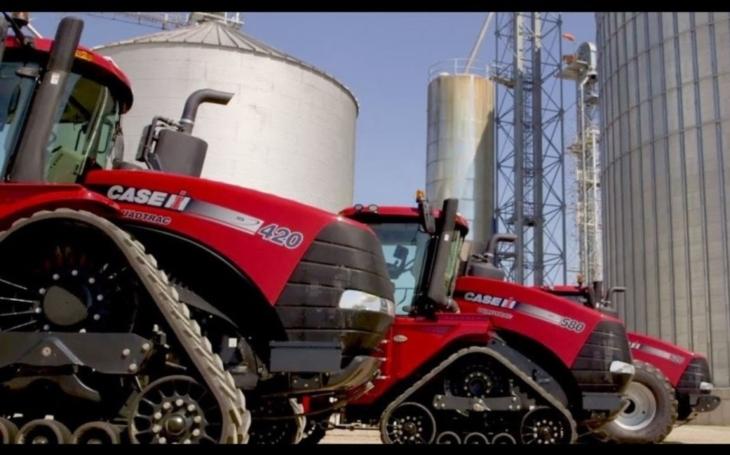 Společnost Case IH představila ,,inteligentní&quote; traktory Steiger CVXDrive i pro nezkušené řidiče
