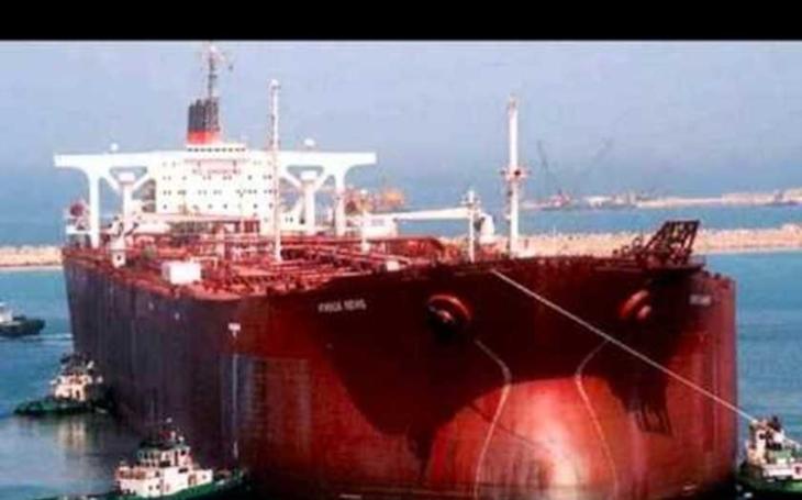 VIDEO: Největší a nejtěžší. Supertanker Knock Nevis byl plovoucím gigantem