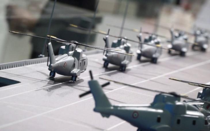 VIDEO: Italové pracují na nové výsadkové vrtulníkové lodi. Ponese název Thaon di Revel podle slavného velitele
