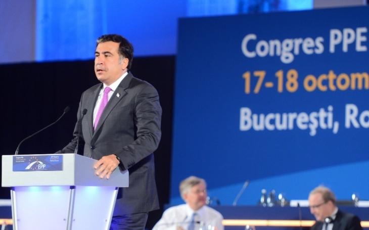 Ukrajinská policie stíhá Saakašviliho za incident na hranicích