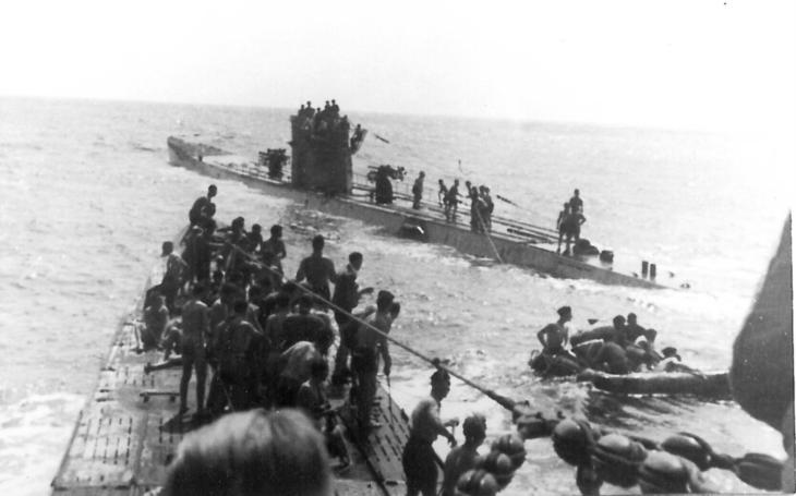 Incident Laconia - německý kapitán U-bootu se snažil zachránit své oběti