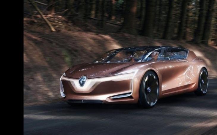 V samořiditelném Renaultu Symbioz se dá i ,,bydlet&quote;. Vůz z karbonových vláken se představil na automobilové show ve Frankfurtu