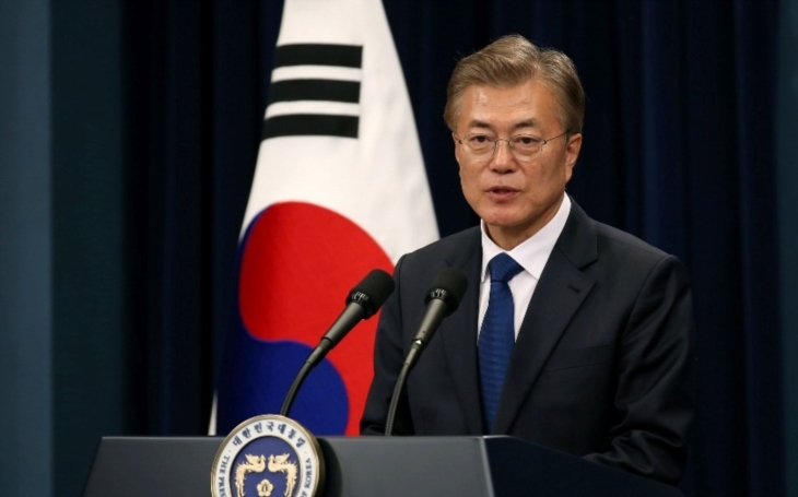 Jihokorejský prezident nechce jaderné zbraně ve své zemi