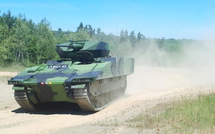 Bojové vozidlo pěchoty ASCOD 2 se představilo na Dnech NATO