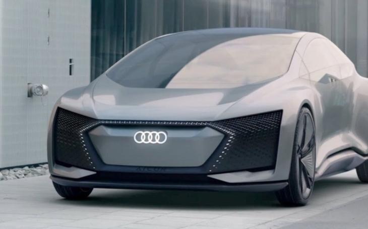 VIDEO: Samořiditelný Audi Aicon: Luxus i bez volantu a pedálů