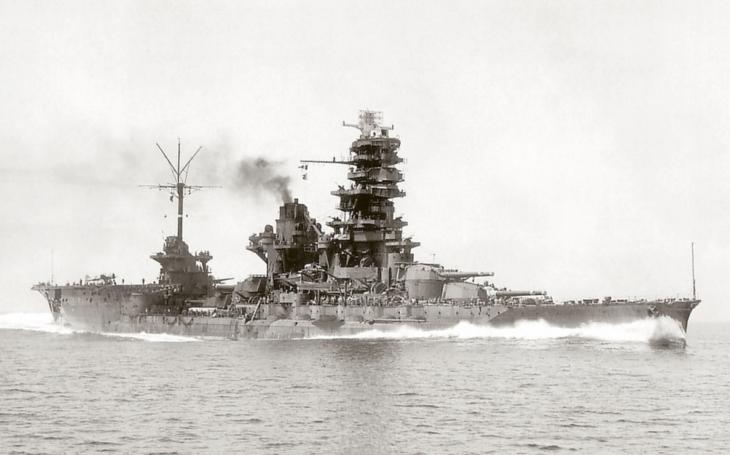 IJN ISE - japonský kříženec bitevní a letadlové lodě skončil neslavně