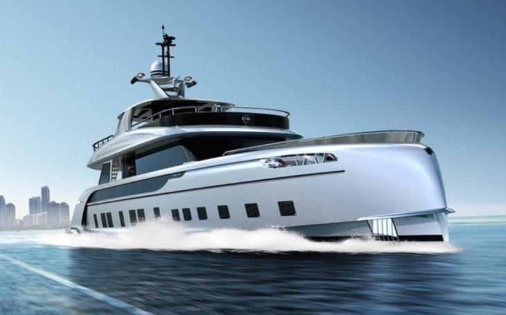 Luxusní superjachta za 300 milionů korun. Porsche představilo plovoucí palác