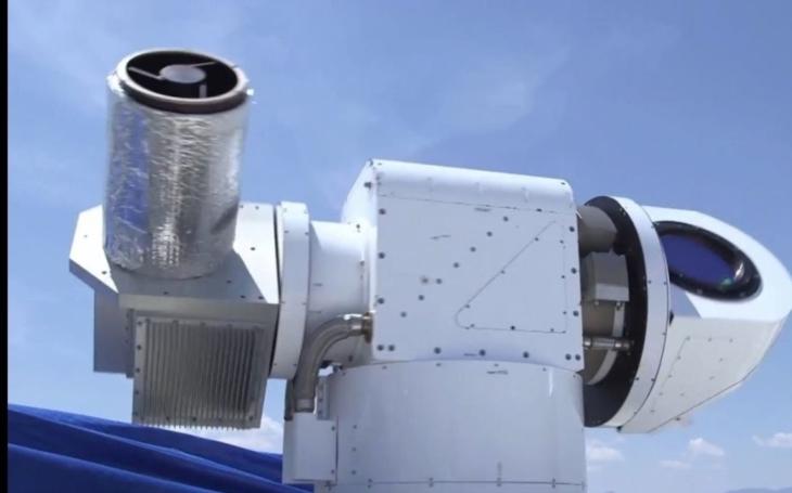 VIDEO: Noční můra všech nepřátelských dronů: Laserový systém ATHENA