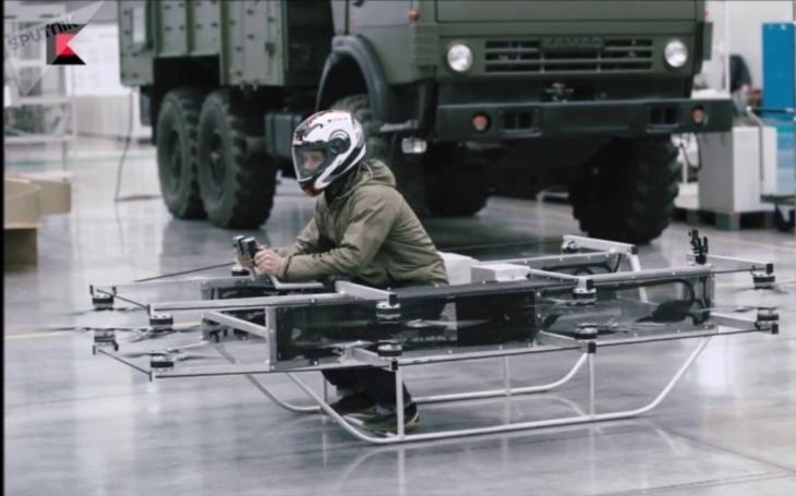 VIDEO: Koncern Kalašnikov pracuje i na ,,létajícím autu&quote;