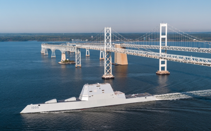 Video: Jak to vypadá uvnitř nejmodernější válečné lodi světa USS Zumwalt