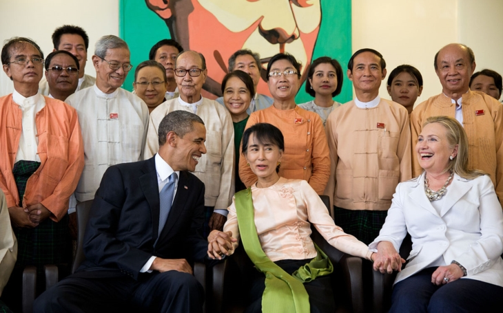 Oxfordská kolej odstranila portrét Su Ťij - prý kvůli útlaku muslimských Rohingů