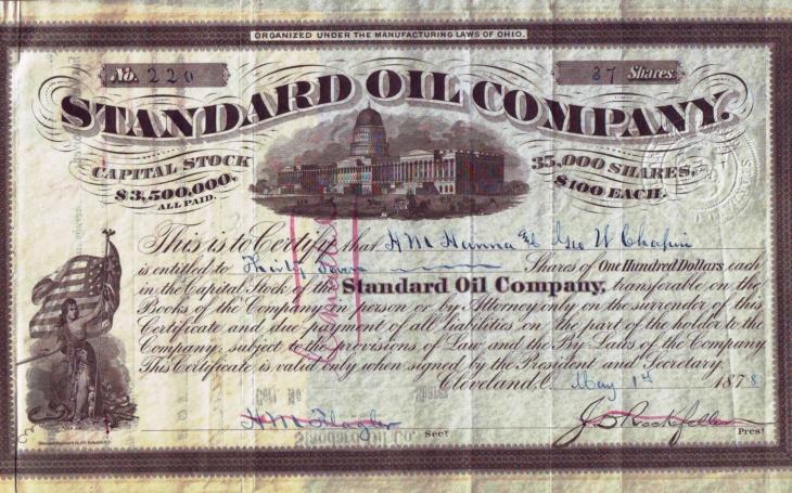 Sedm sester vládlo světu ropy