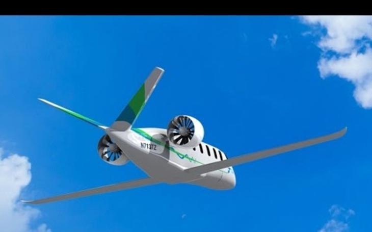 Americký start-up chce do roku 2022 postavit elektrické hybridní letadlo. Plánuje i komerční lety