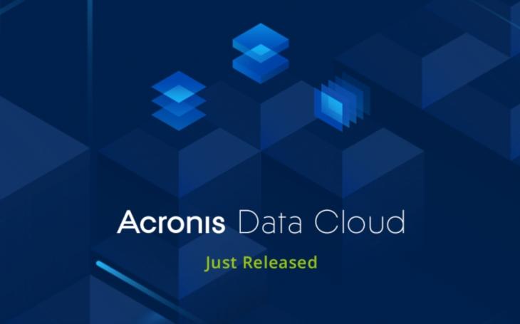 Acronis uvádí Acronis Data Cloud, jednotnou platformu pro poskytovatele služeb