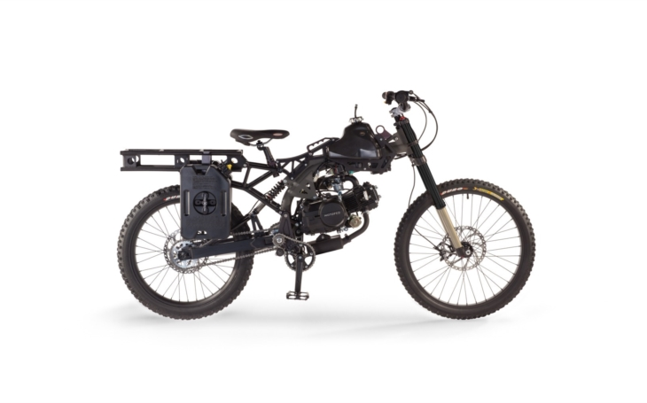 Motoped Survival pro Šíleného Maxe, aby přežil apokalypsu