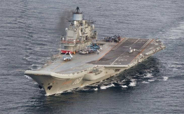 Rusko začne vyvíjet letadlovou loď s jaderným pohonem v roce 2023