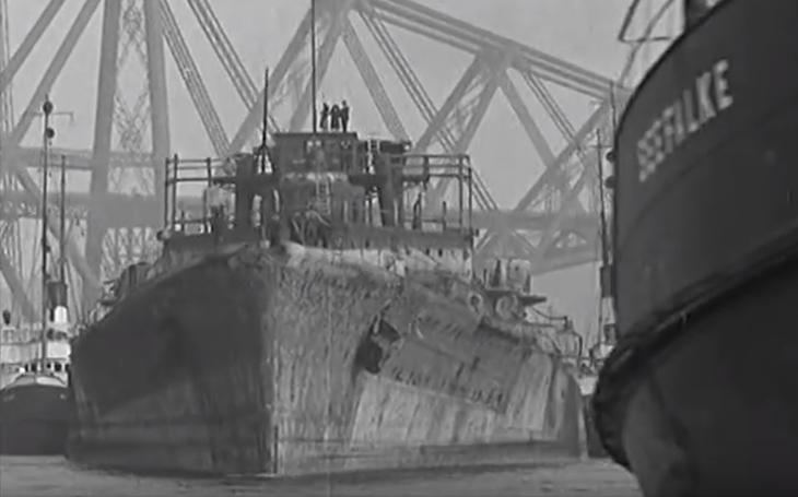 Poslední cesta císařského bitevního křižníku SMS Hindenburg