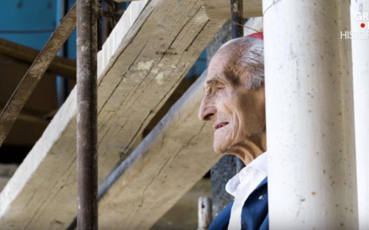 VIDEO: 90ročný mních, už viacej ako polstoročie sám stavia kostol