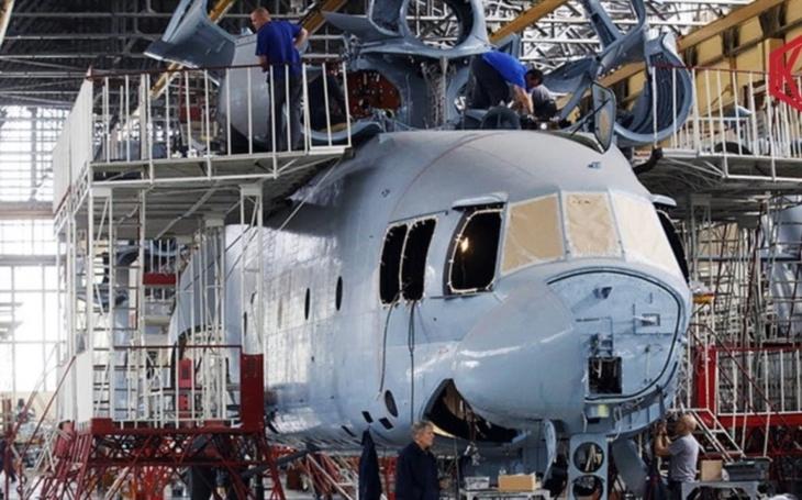 Russian Helicopters zmodernizují těžký transportní vrtulník Mil Mi-26. Pustily se do vývoje prototypu Mi-26T2V
