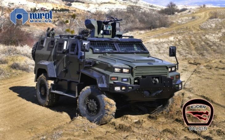 Turecká společnost Nurol Makina vyrobí v Uzbekistánu 1 000 obrněných vozidel Ejder Yalçın