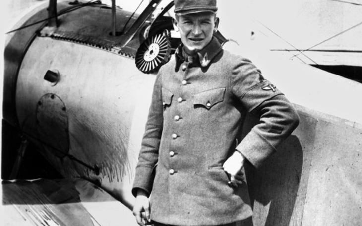 Český orel Pavel Pavelka - stíhací eso amerického letectva v 1. světové válce