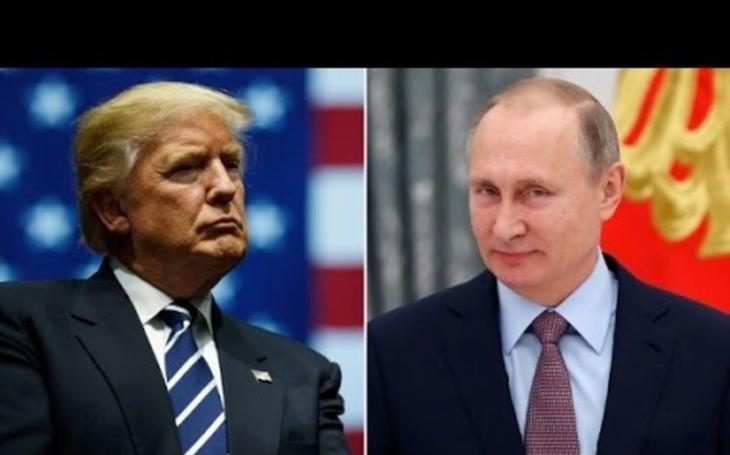Trump a Putin schválili společné prohlášení k Sýrii, řekl Peskov