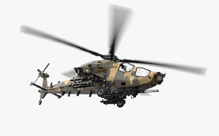 Turecko vyvíjí vlastní útočný vrtulník