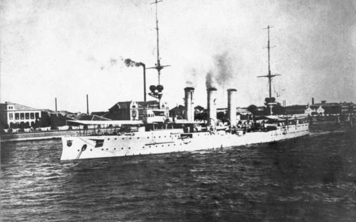 Císařův korzár potopil 30 lodí, nakonec ale skončil pod děly australského křižníku