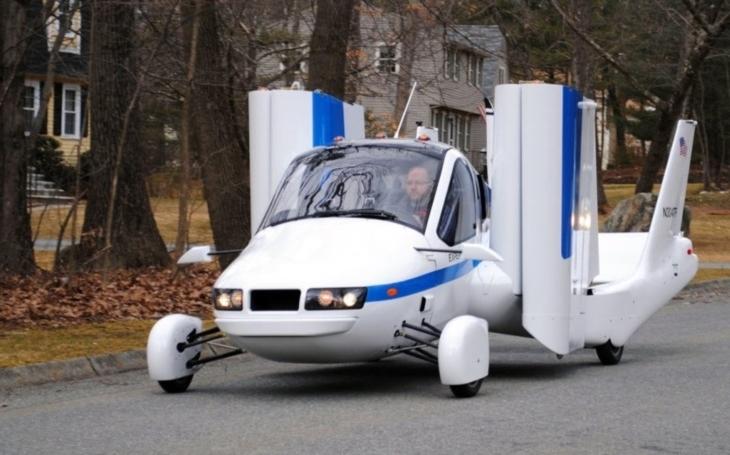 Uvidíme létající auta již v roce 2019? Čínská automobilka Geely koupila start-up, který je má vyrobit