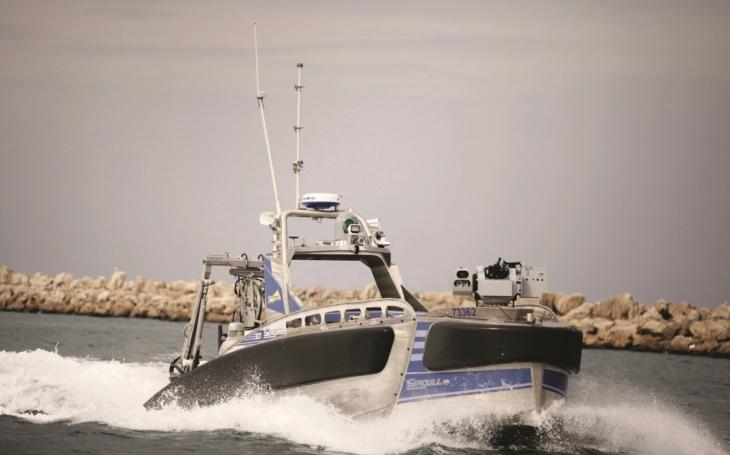 Izraelský robotický zabiják ponorek získal mezinárodní cenu za nejprogresivnější lodní design