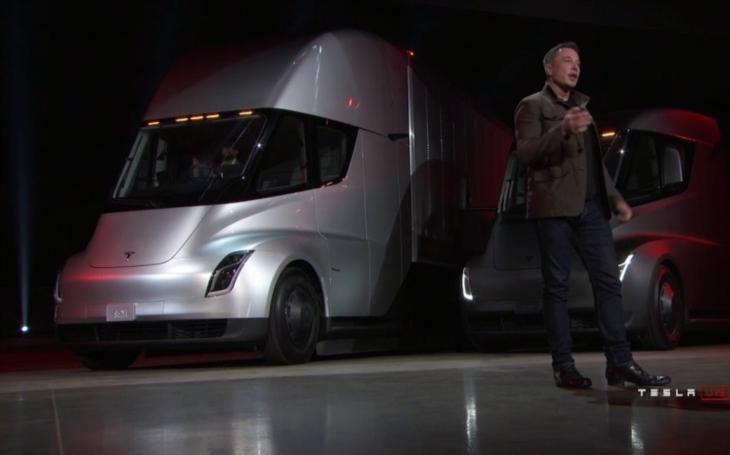 VIDEO: Dlouho očekávaný Muskův elektrický kamion konečně odhalen!