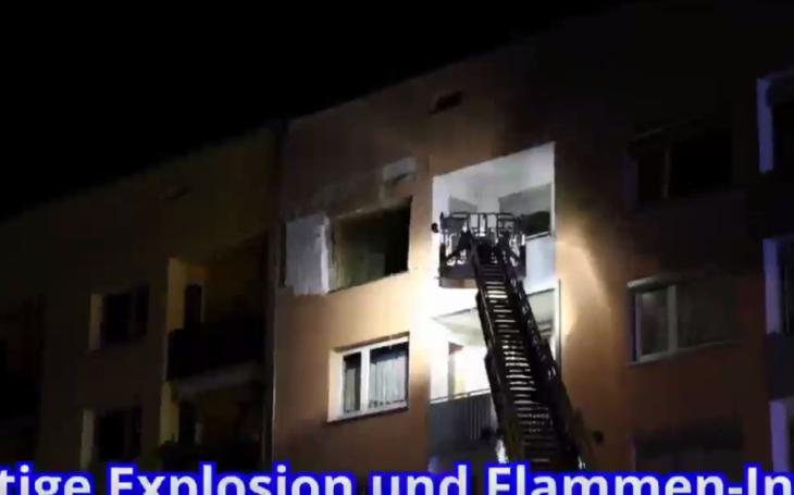 Výbuch obytnej budovy v Nemecku