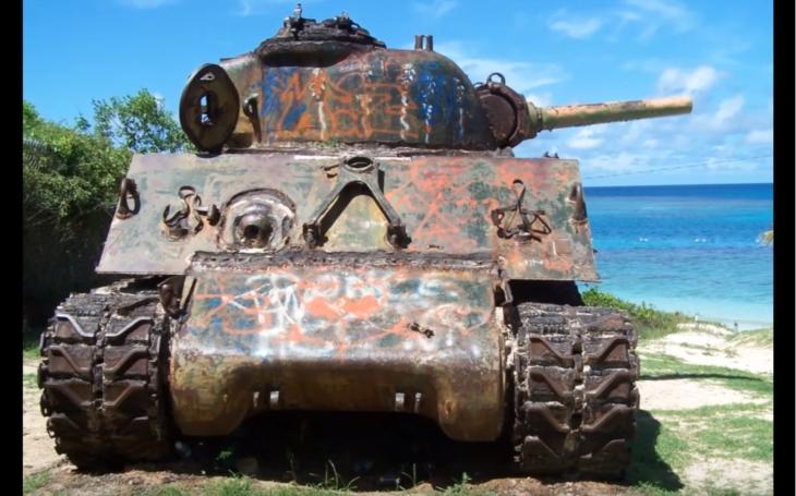 VIDEO: Navštívte pomocou súradníc opustené tanky z druhej svetovej vojny