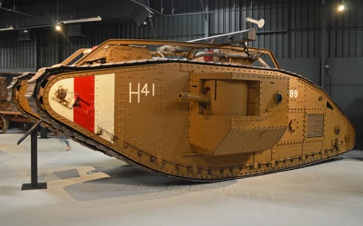 Dědeček všech moderních tanků, britský Mark
