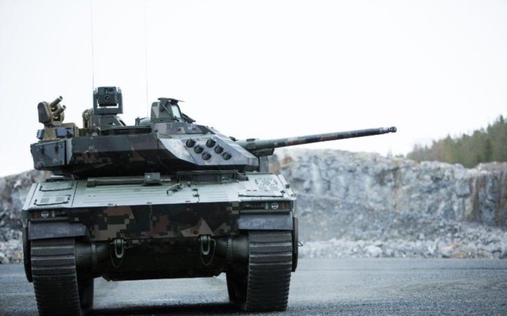 Meopta bude vyrábět zaměřovací technologii pro bojová vozidla pěchoty CV90