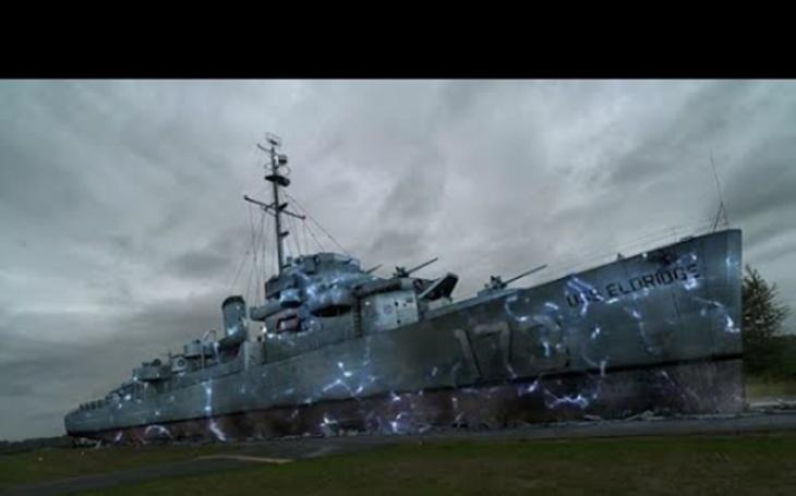 VIDEO: Přenesli Albert Einstein a Nikola Tesla válečnou loď v čase?