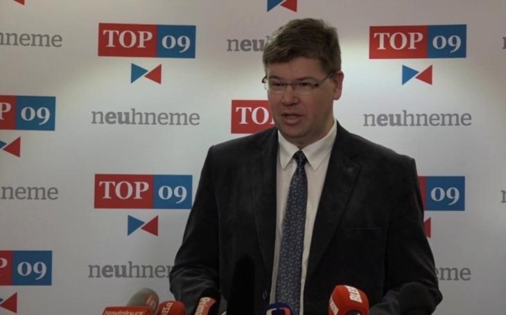 Jiří Pospíšil jako volba z nouze. Europoslanec zkusí resuscitovat TOP 09