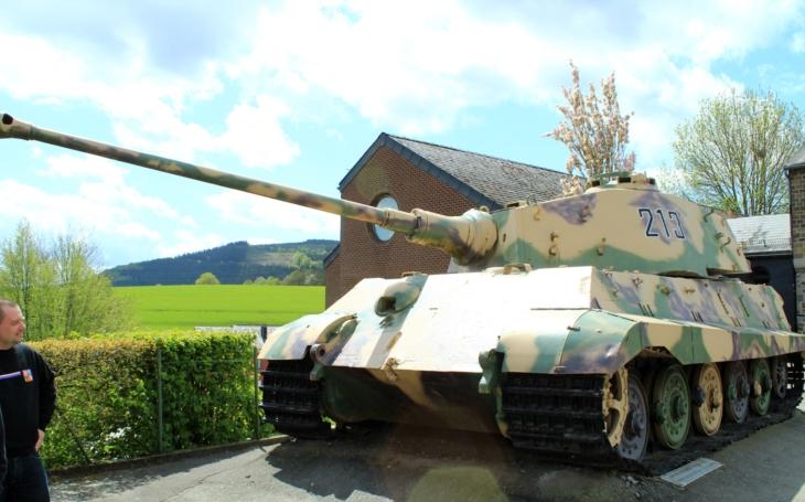 Ardenská vojenská muzea patří k nejlepším v Evropě