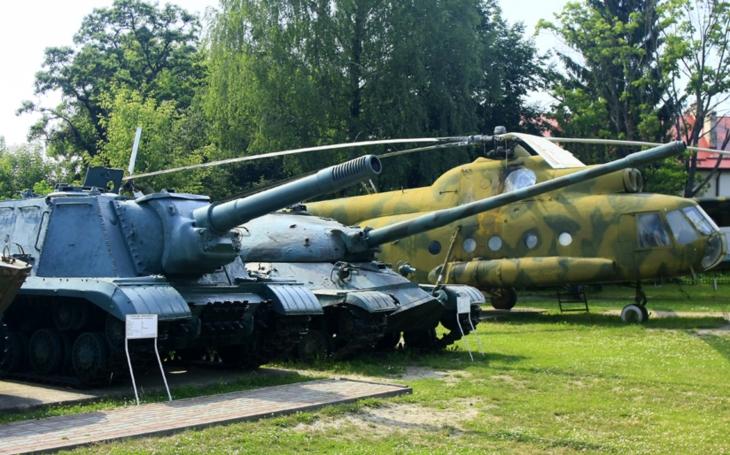 Lucké vojenské muzeum nabízí průřez historií sovětské a ukrajinské armády