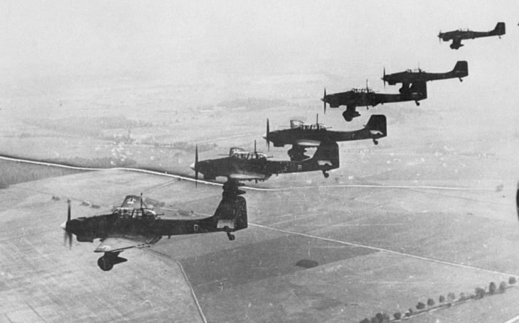 Vzácne kolorizované zábery Luftwaffe
