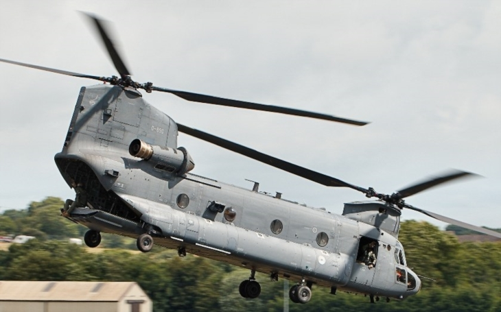Boeing zmodernizuje nizozemské transportní vrtulníky CH-47 Chinook do nejnovějšího modelu F