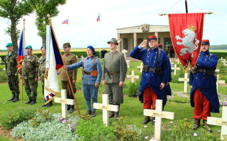 Muzea v krvavé Champagne připomínají statečnost československých legionářů z Roty Nazdar