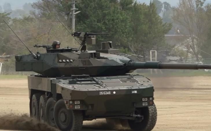 Japonsko si objednalo dalších 16 kolových obrněných vozidel MCV